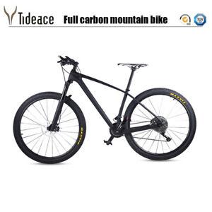 T800 Carbon Fiber Complete Mountain Bike XT Groupset Carbon AERO MTB Bike 11S