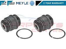 FOR BMW E60 E61 X5 E64 E65 E66 E38 E39 2x REAR HUB ARM ROSE JOINT BUSHES MEYLE