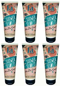 6x Fa Dusch Shower-Duschgel Secrets Blauer Lotus & Freesin Duft, 200 ml  NEU