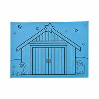 "Nativity Scratch ""˜N Reveal - Craft Supplies - 12 Pieces"