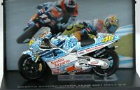 STICKTOY 236 243 250 HONDA NSR500 RC211V model bikes V Rossi 2001 & 2002 1:24th