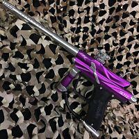 NEW Azodin Blitz 3 Electronic Paintball Gun Marker - Purple/Silver