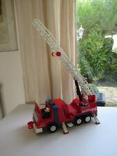 👿 Camion De Pompier Grande Échelle Playmobil 3182 Incomplet