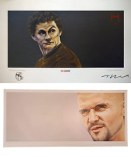 2 x Manchester United Limited Edition prints - Keane + Solskjaer (RRP £140)