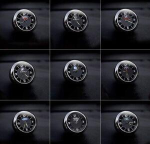 Car Dashboard Trim Clock Luminous Quartz Interior Accessory With  Clip Jaguar