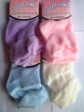 4 X Ladies Girls Bed Socks Various Colours Size 4-7 Warm Cosy