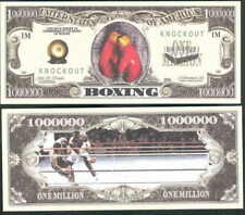 Lot of 25 Bills - Boxing, Knockout Million Dollar Bill