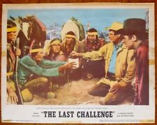 LAST CHALLENGE 3 Lobby Cards  LCs low grade1967 Glenn Ford & Angie Dickinson
