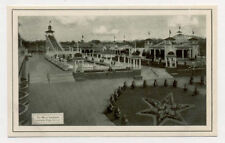 DENVER LAKESIDE AMUSEMENT PK RIDES OLD POSTCARD PC5017