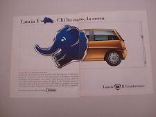advertising Pubblicità 1997 LANCIA Y