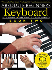 Absolute Beginners Keyboard Learn to Play Easy lesson Start Music Book 2 & CD