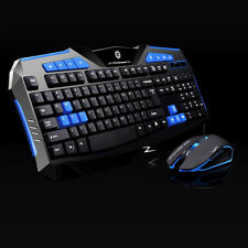 Professional Wireless Computer Gaming Keyboard And Mouse Set 2000 DPI Mouse Mice