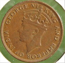 British Honduras 1944 1 Cent, Nice & Original, Undamaged, ↑ Grade Rare Coin!