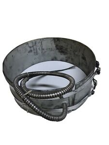 "Big Chief Heater Heat Band BC66961A 1200 Watt 240V 11"" ID 4.5"" H 30 D Warranty"