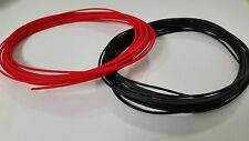AUTOMOTIVE PRIMARY WIRE 20 AWG HIGH TEMP TXL WIRE RED + BLACK 25 FT EACH
