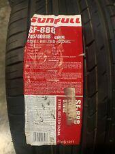 1 New 245 40 18 Sunfull SF-888 Tire