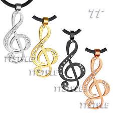Cubic Zirconia Pendant Chains & Necklaces for Men