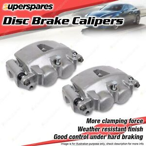 Front Left + Right Brake Calipers for Honda Accord CL CL9 CM CM5 CM6 2.4L 3.0L
