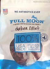 48 OZ Full Moon Natural Human Grade Dog Treats-Chicken Fillet,Free Shipping