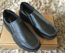 Men's Cushion Walk Slip On Shoes BlackUK7 Comfort Flexible Casual Shoe
