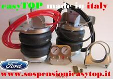 SOSPENSIONI MOLLE ARIA easyTOP CAMPER FURGONE FORD TRANSIT gemellato 125 T 350