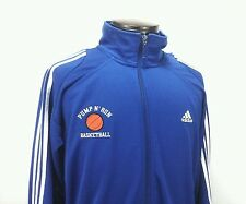 ADIDAS CLIMA 365 Mens Pump n' Run Basketball Athletic Sport Track Jacket Large