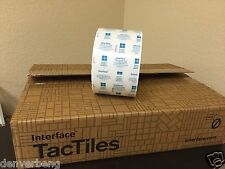 Tac Tiles GlasbacRE FlorDots Interface Flor Adhesive Tactiles 50 pcs Brand New