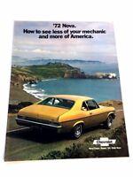 ORIGINAL 75 CHEVROLET PAINT COLOR CHIPS 1975 CHEVY NOVA SS /& CUSTOM BROCHURE