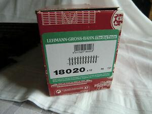 Modelleisenbahn LGB Spur G gebogene Gleise