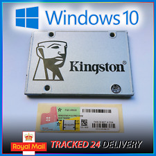 ⭐ 120GB Kingston UV400 Windows 10 Pro SSD Hard Drive 2.5 SATA ✅ GENUINE Licence
