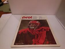 NY Giants Game Program vs Green Bay Packers Nov 23, 1975 - NFL Pro Magazine