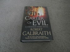 ROBERT GALBRAITH: CAREER OF EVIL: UK FIRST EDITION HARDCOVER WITH BINDING ERROR