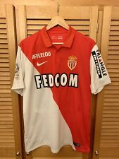 AS Monaco 2014-2015 home J. Moutinho signed football shirt jersey maillot