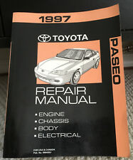 1997 Toyota Paseo Repair Manual MINT Never Used