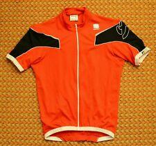 Sportful, Red Womens Cycling Shirt, Size Large, Full Zipper
