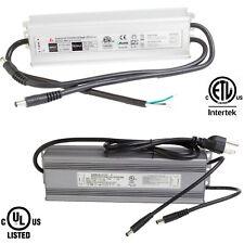 UL ETL 12v 24v 72w Power Supply driver waterproof for LED light Strip module