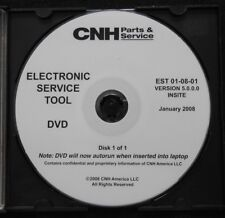 CASE NEW HOLLAND CNH ELECTRONIC SERVICE TOOL SOFTWARE VERSION 5.0.0.0 JAN 2008