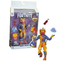 """Epic Games Fortnite LEGENDARY SERIES 6"""" Beef Boss Action Figure 8 Piece Pack"""