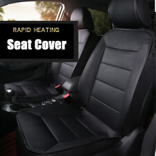 PU Leather Thickening Heated Car Seat Heater Chair Cushion 12V Universal 1pcs