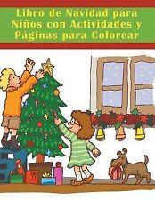 Libro de Navidad para Ninos con Actividades y Paginas para Colorear by Mojo...