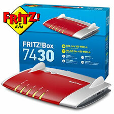 AVM FRITZ! BOX 7430-Wireless Router-Modem DSL - 4-Port-Switch - 802.11b/g/n