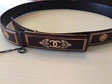 "Chanel NWT ""A Tale from Paris to Salzburg Burgundy Leather Belt ($1155) w/tax"