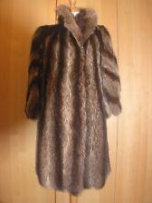 0b742cb09b1f19 Waschbär Damen Mantel Pelz ausgezeichnete Verarbeitung