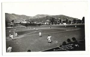 Baseball: Chicago Cubs; Catalina Island; Baseball Park (Real Photo PC)