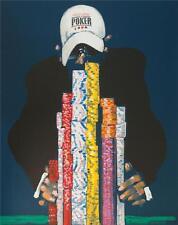Waldemar Swierzy Full House World Series of Poker Signed Fine Art Lithograph S2
