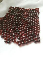 100% Natural Baltic Amber Cognac Loose Round Beads Gemstone 20pcs