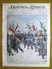 La Domenica del Corriere 12 febbraio 1933 Bardonecchia - Cinghiale - Hitler