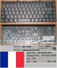 Azerty French Keyboard TOSHIBA 1700 1750 NSK-8560P 99.N0782.0NF PK13ATL0220
