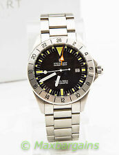 Steinhart Ocean Vintage GMT Men's Automatic Watch 1000ft/300M Swiss ETA 2893-2