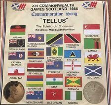 "Edinburgh Choristers - Tell Us - 1986 XIII Commonwealth Games - Vinyl 7"" Single"